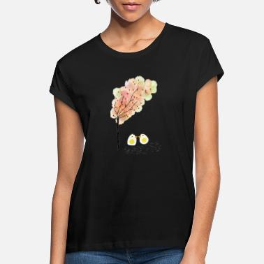 Hoof chicken colored print illustration - Women's Loose Fit T-Shirt