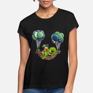 Chill chill toad in a hammock - Women's Loose Fit T-Shirt