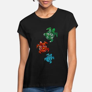 Creature Turtle Sea Creatures - Women's Loose Fit T-Shirt