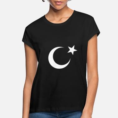 Kebab Moon and star - Women's Loose Fit T-Shirt
