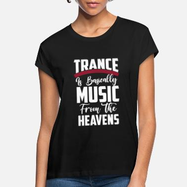 Raver Trance Music Techno Rave Party Electro - Women's Loose Fit T-Shirt