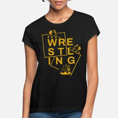 Freestyle Wrestling Wrestler Wrestling Ringer Ring Grappling - Women's Loose Fit T-Shirt