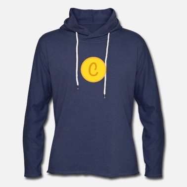 Golden Coin Coin design - Unisex Lightweight Terry Hoodie