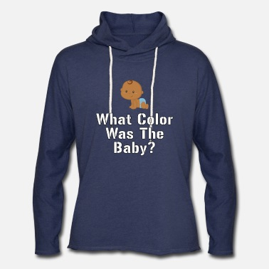 Hair Coloring What Color Was The Baby Baby Eye Color Baby Hair - Unisex Lightweight Terry Hoodie