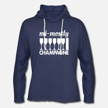 Champagne Champagne - Unisex Lightweight Terry Hoodie