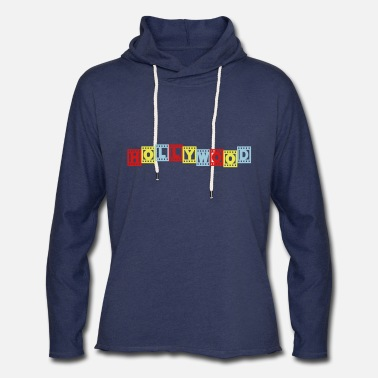 Hollywood HOLLYWOOD - Unisex Lightweight Terry Hoodie