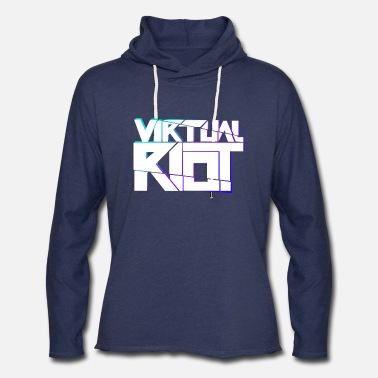 Riot Virtual Riot Merch - Unisex Lightweight Terry Hoodie