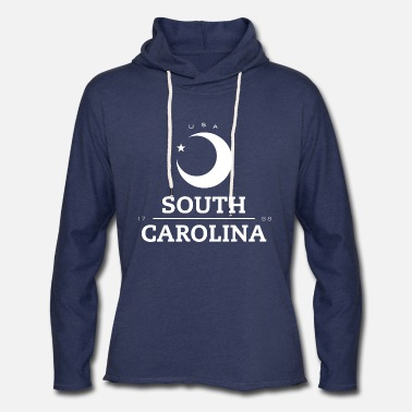 South South Carolina Badge - Unisex Lightweight Terry Hoodie