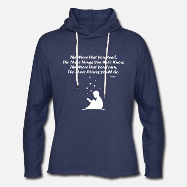 Dr. Seuss Dr Seuss Read - Unisex Lightweight Terry Hoodie