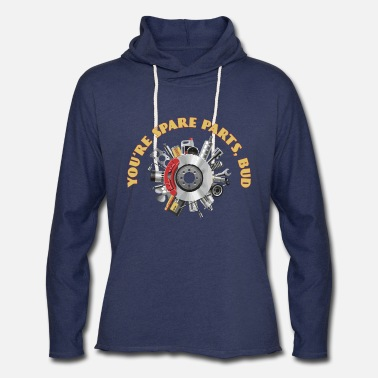 Letterkenny - You Are Spare Parts Bro - Unisex Lightweight Terry Hoodie