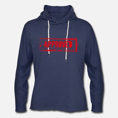 Approved Approved - Unisex Lightweight Terry Hoodie