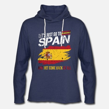 Spain Spain Cool Quote - Unisex Lightweight Terry Hoodie