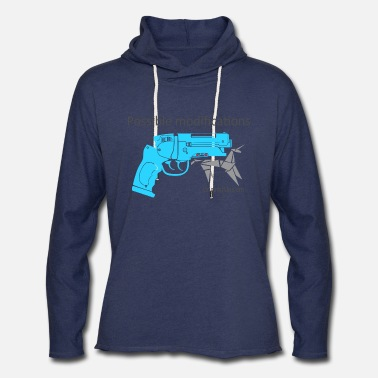 BR Blaster Possible modifications Unicorn - Unisex Lightweight Terry Hoodie