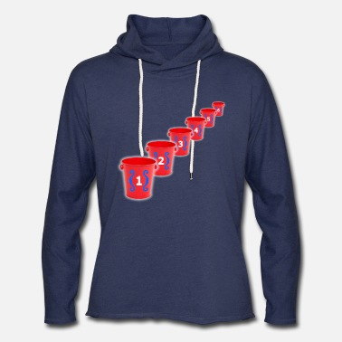 No Bozos Clothing Bozo Bucket Game Old School Chicago - Unisex Lightweight Terry Hoodie