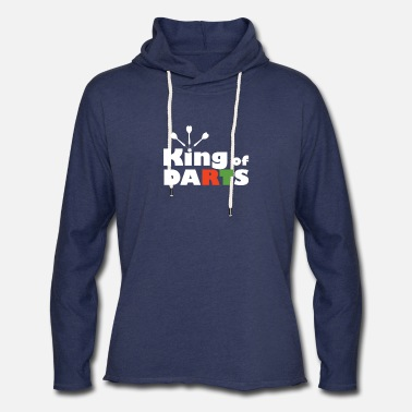 Darts Clothes Darts - King of Darts - Unisex Lightweight Terry Hoodie
