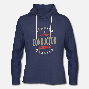 Conductor Conductor - Unisex Lightweight Terry Hoodie