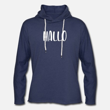 Couple Halloween Hallo Ween Funny Slogan Gift Part 2 - Unisex Lightweight Terry Hoodie