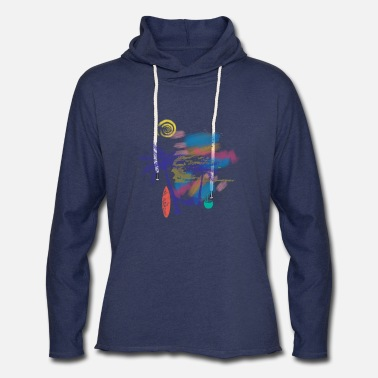 Drinks paradise tropical destination - Unisex Lightweight Terry Hoodie