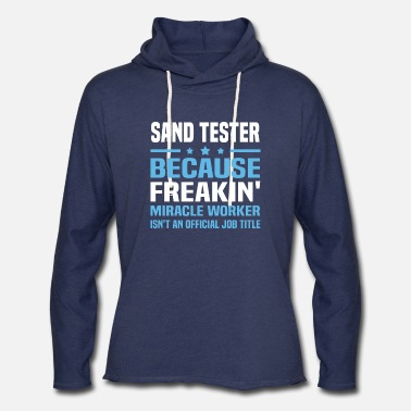 Sand Tester Sand Tester - Unisex Lightweight Terry Hoodie