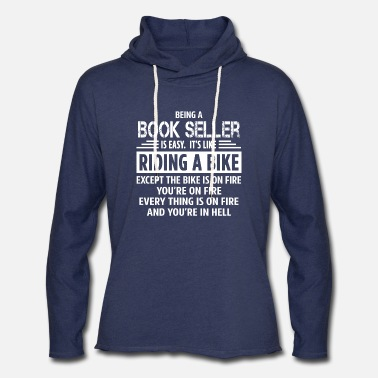 Book Seller - Unisex Lightweight Terry Hoodie