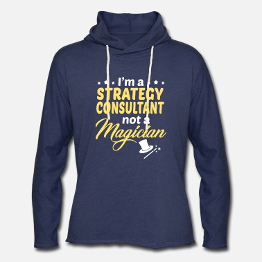 Strategies Strategy Consultant - Unisex Lightweight Terry Hoodie