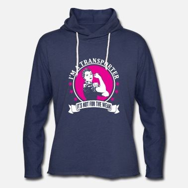 Transport Transporter - Unisex Lightweight Terry Hoodie