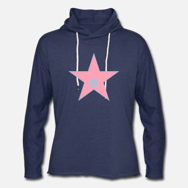 Hollywood your walk of fame + your name - Unisex Lightweight Terry Hoodie