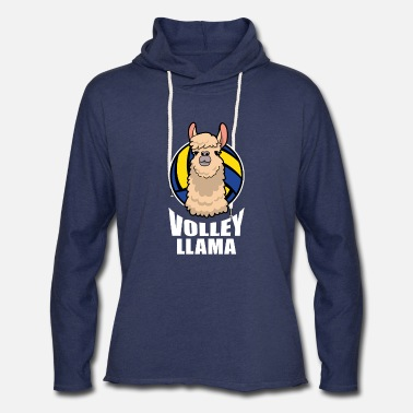 Volley VOLLEY LLAMA Volleyball League - Unisex Lightweight Terry Hoodie