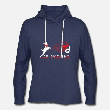Painter Car Painter Painting - Unisex Lightweight Terry Hoodie