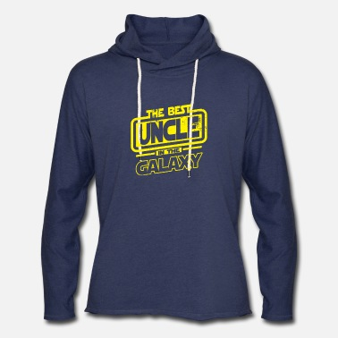 Best Uncle The Best Uncle In The Galaxy - Unisex Lightweight Terry Hoodie
