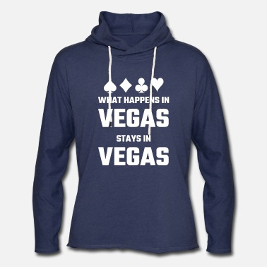 Vegas Vegas - What Happens In Vegas Stays In Vegas - Unisex Lightweight Terry Hoodie