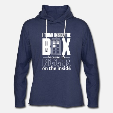 Miscellaneous Doctor Who - Unisex Lightweight Terry Hoodie