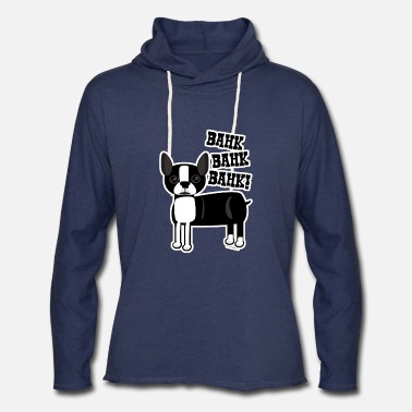 Funny Boston Accent Boston Accent Terrier - Unisex Lightweight Terry Hoodie
