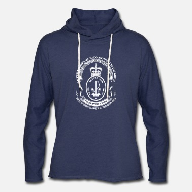 Navy Royal Australian Navy - I'm the last of a dying - Unisex Lightweight Terry Hoodie