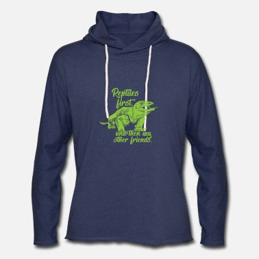 Reptile Reptiles first - Unisex Lightweight Terry Hoodie