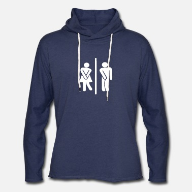 Restroom Public Restroom Have to Go to the Bathroom - Unisex Lightweight Terry Hoodie