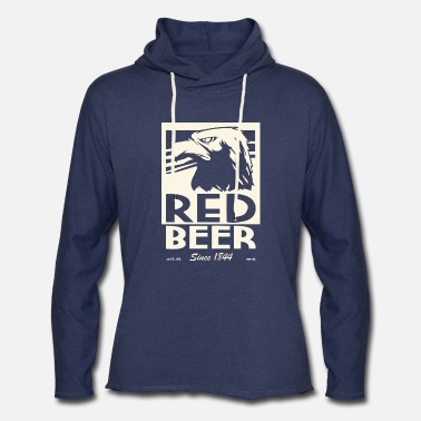 Archer Red beer - Unisex Lightweight Terry Hoodie