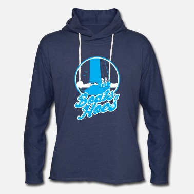 Boats And Hoes BOATS AND HOES - Unisex Lightweight Terry Hoodie