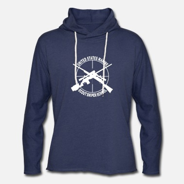 SNIPER SOLDIER MILITARY ARMY US MARINE HUNTER Mens Gray Sweatshirt