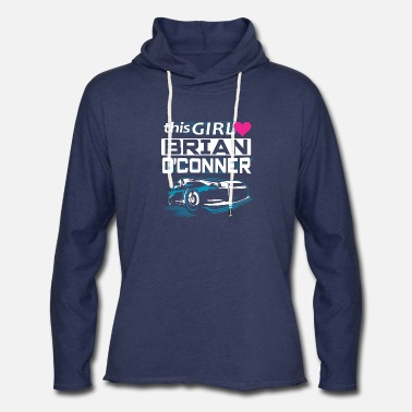 Fast Fast & furious - This girl love Brian O'conner - Unisex Lightweight Terry Hoodie