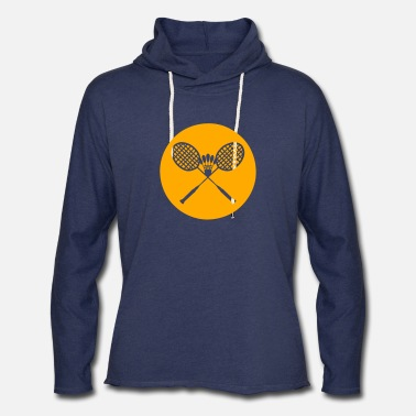 Badminton Racket badminton racket - Unisex Lightweight Terry Hoodie