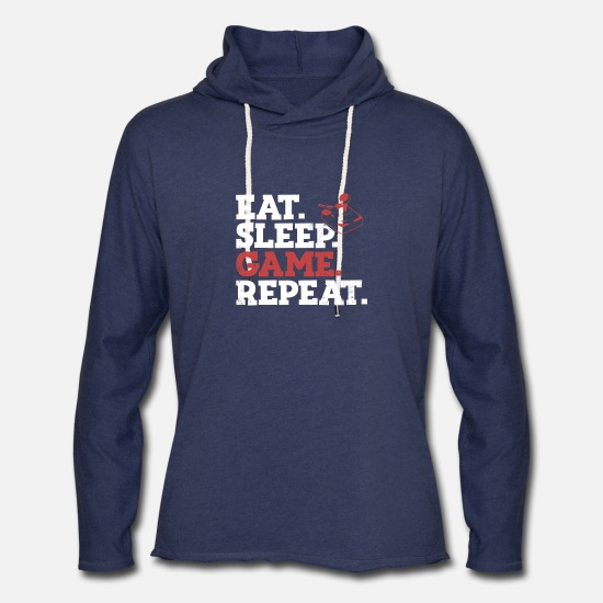 Game Hoodies & Sweatshirts - Funny Gaming Gamer Video Games Console Strategic - Unisex Lightweight Terry Hoodie heather navy