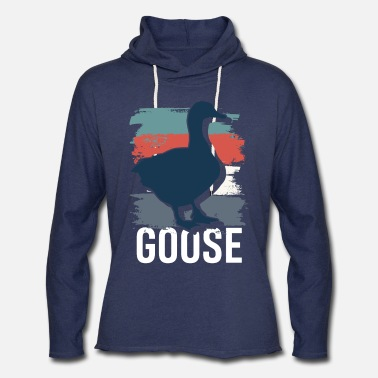 Beak goose bird animals pet gift idea - Unisex Lightweight Terry Hoodie