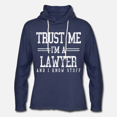 Lawyer Lawyer - Unisex Lightweight Terry Hoodie