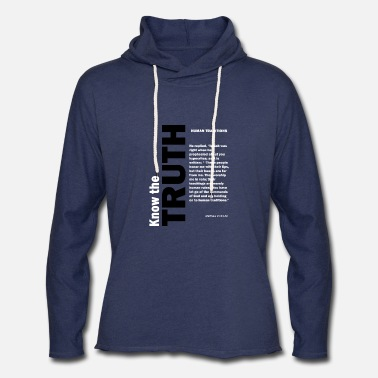 Tradition Human traditions - Unisex Lightweight Terry Hoodie