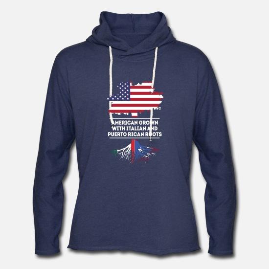 American Heart Puerto Rico Roots Kid Boys Girls Long Sleeve Sweatshirts Hooded Hoodie 2-6T