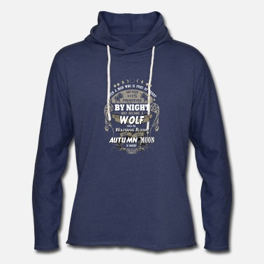 The Wolf Man Gypsy proverb - Unisex Lightweight Terry Hoodie