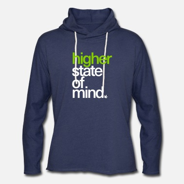 Higher State Of Higher State of Mind. - Unisex Lightweight Terry Hoodie
