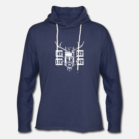Movie Hoodies & Sweatshirts - The Knights Who Say - Unisex Lightweight Terry Hoodie heather navy