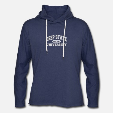 State New Design Deep State University Best Seller - Unisex Lightweight Terry Hoodie